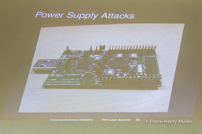 Hackito Ergo Sum 2012 power supply attacks